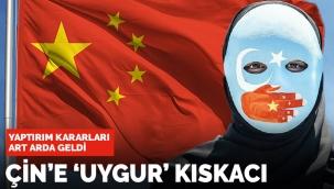 Çinde Doğu Türkistan kıskacı! Dünyadan art arda yaptırım kararı