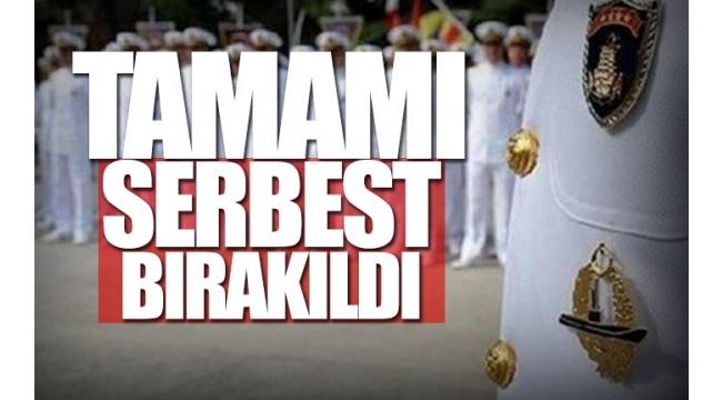 Bildiri yayınlayan emekli amiraller serbest bırakıldı !