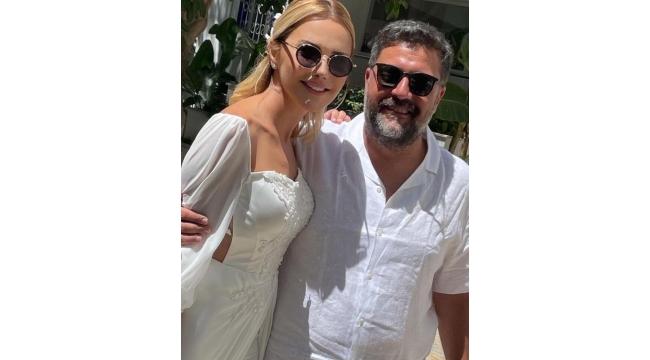 Ece Erken ve uzun zamandır aşk yaşadığı avukat sevgilisi Şafak Mahmutyazıcıoğlu evlendi.