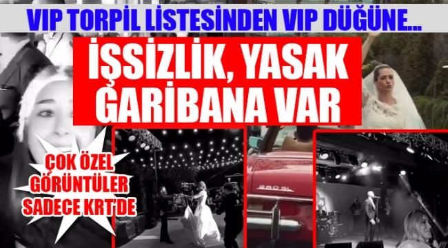 Erdoğanın en yakınındaki ismin kızına koronavirüse rağmen VIP düğün