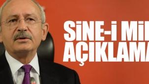 """CHP Lideri Kemal KılıçdaroğluCHP'nin Sine-i Millet kararı erken genel ve cumhurbaşkanlığı seçimi yapılmasını sağlamaz."""""""